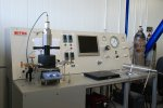 Laboratory equipment for investigation of solubility and phase equilibria in supercritical carbon dioxide