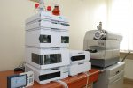 Liqiud chromatograph 1200 Series with a mass detector QTRAP 3200