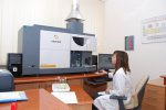 Induced coupled plasma optical emission spectrometer (ICP-OES) Varian 720-ES