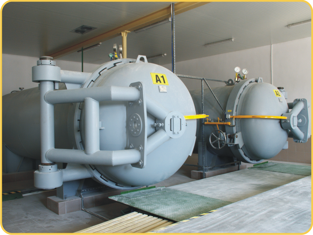 Pressure disinfestation of plant raw materials with carbon dioxide